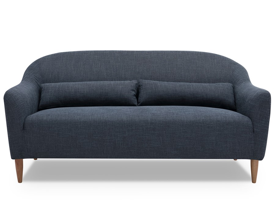 2 Seater Sofa In Dark Grey