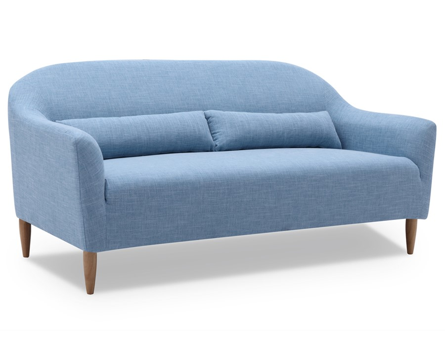 2 Seater Sofa In Light Blue