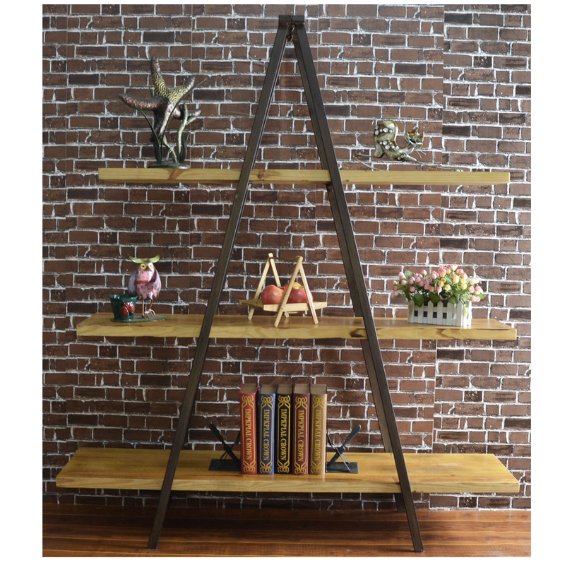 Triangle ladder bookshelf by home elements - Triangular bookshelf ...