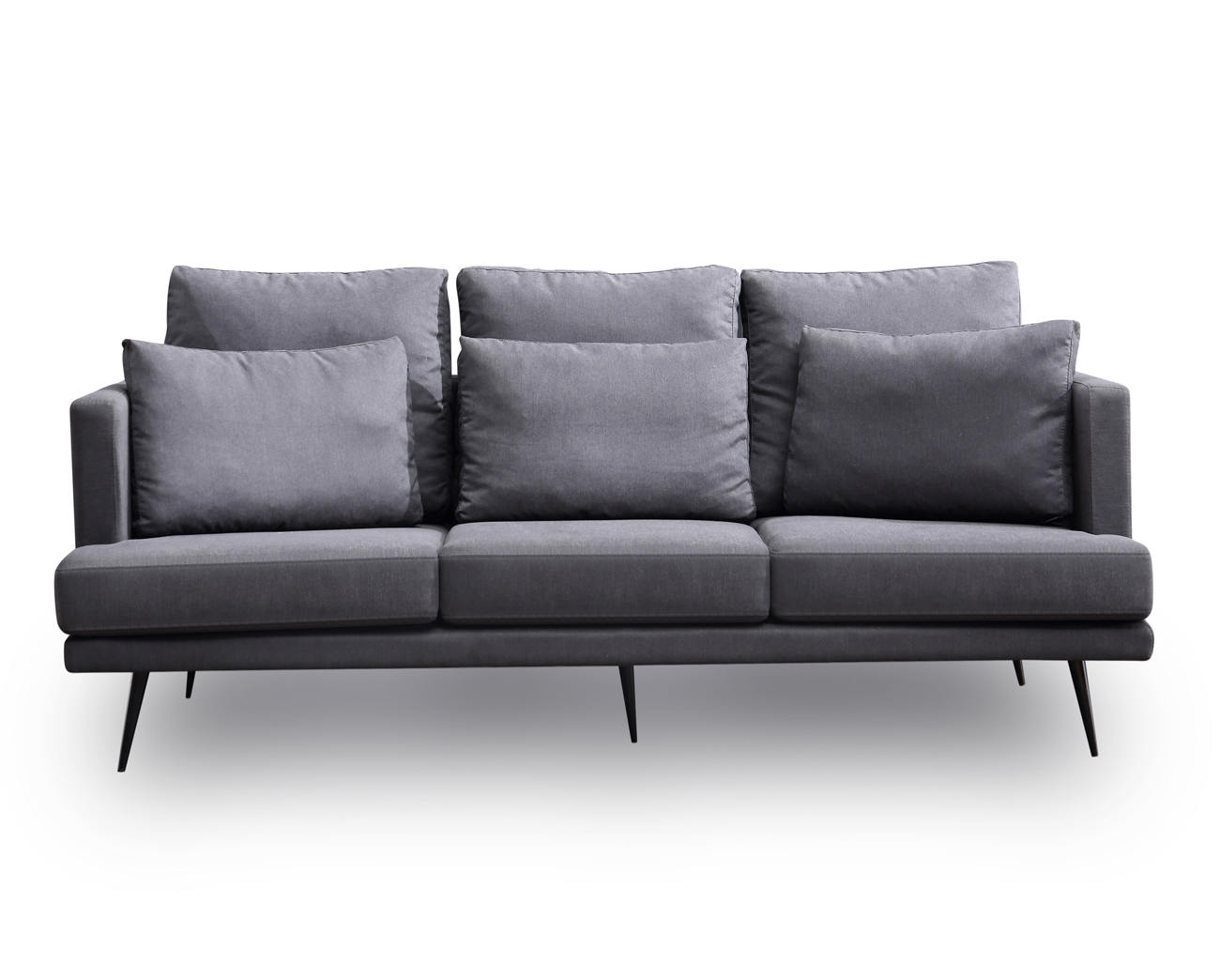 3 Seater Grey Sofa New Urban Loft Industrial Premium By Home Elements