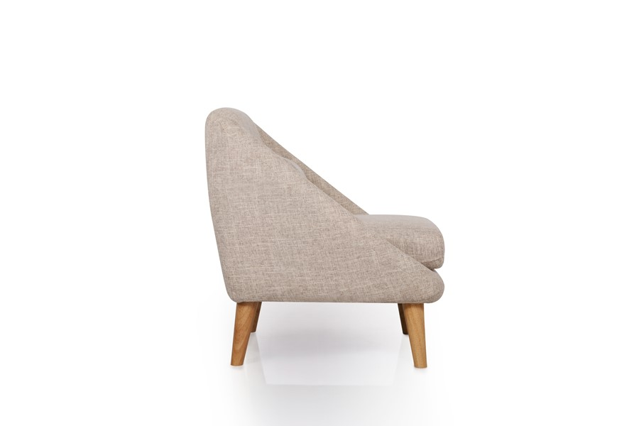 Grey Fabric Arm Chair - Ideal for small space living