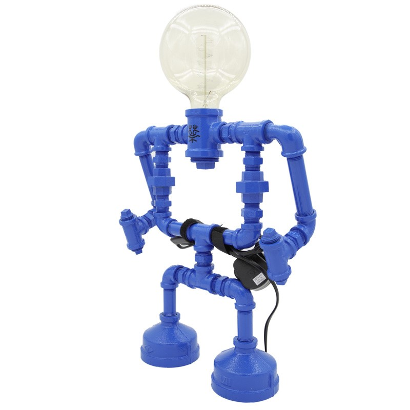 Robot Table Lamp E1 Blue