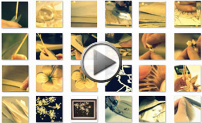 Watch our video to find out how straw artworks are made.