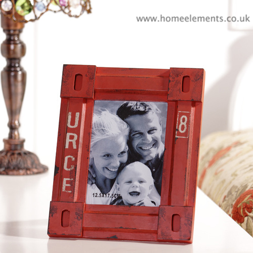 Red Container Picture Frame
