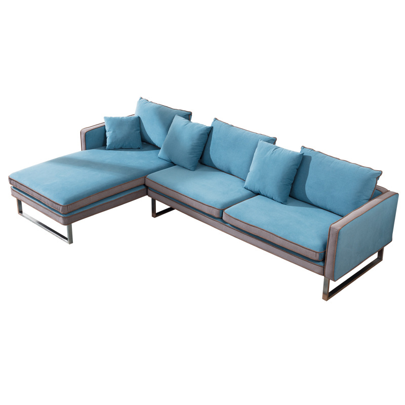 Corner Sofa 3 or 4 Seater Contemporary Right or Left Lounge Chaise