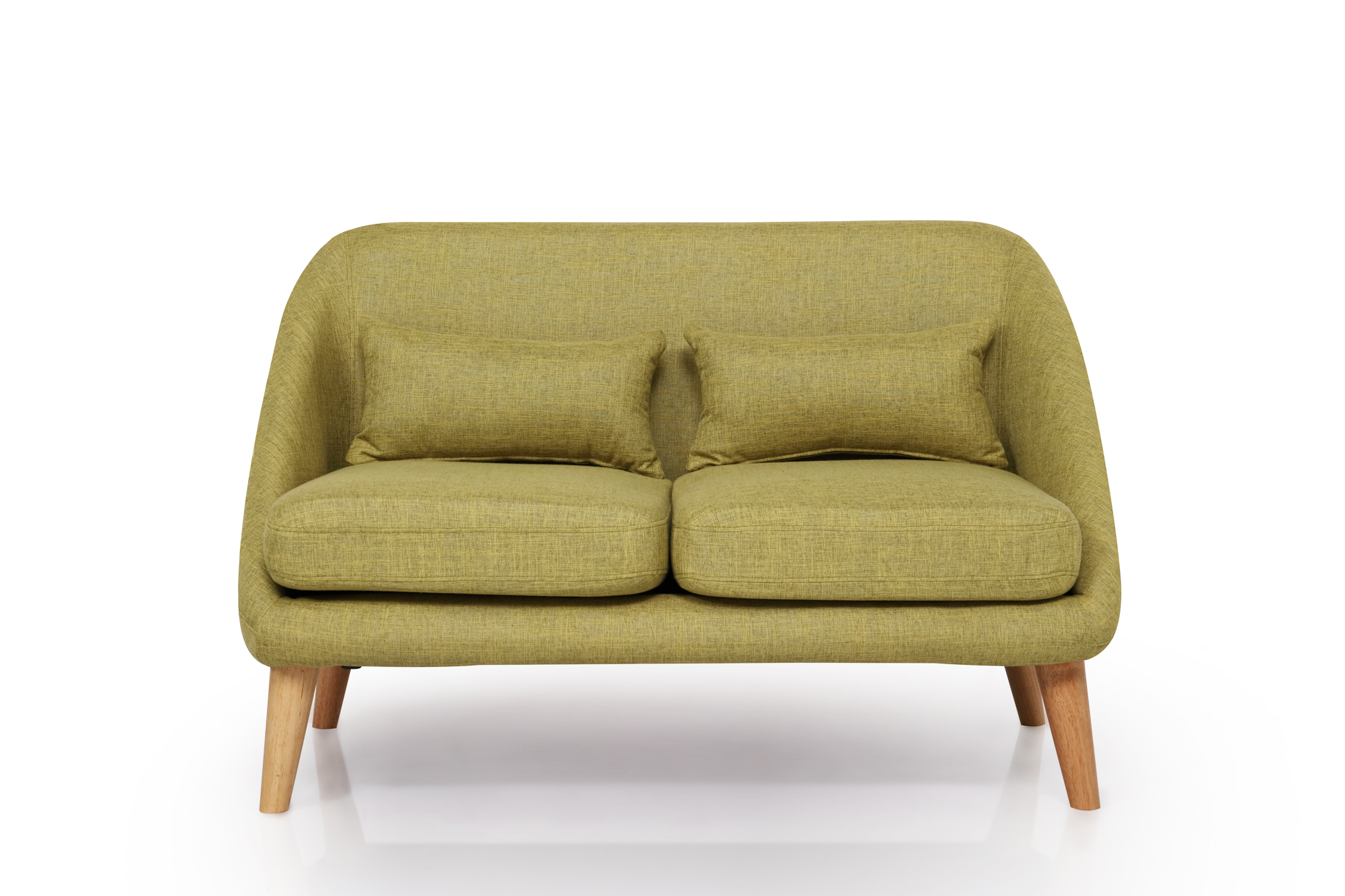 Green Fabric Two Seater