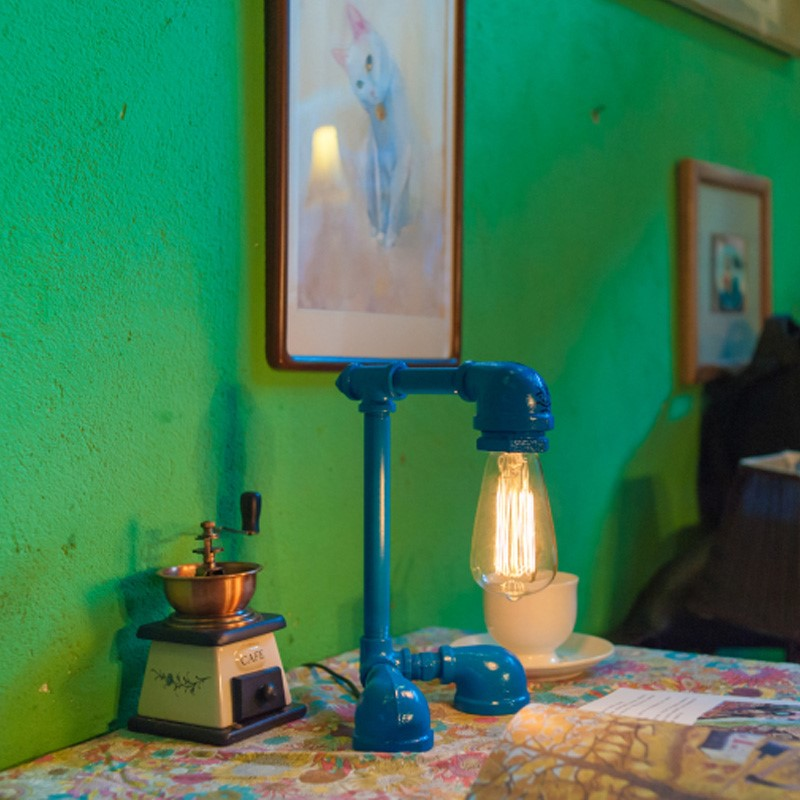 Robot Table Lamp A1 Blue